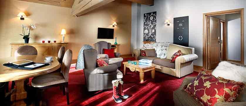 Le Savoie - Penthouse suite